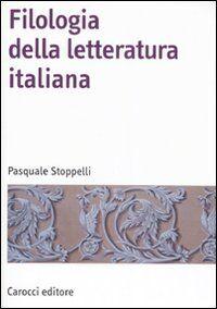 Filologia della letteratura Italiana