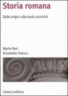 Amatigota.it Storia romana. Dalle origini alla tarda antichità Image