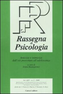 Squillogame.it Rassegna di psicologia (2008). Vol. 2: Amicizie e inimicizie dall'età prescolare all'adolescenza. Image