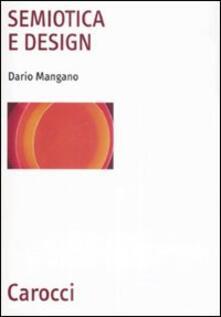 Semiotica e design - Dario Mangano - copertina