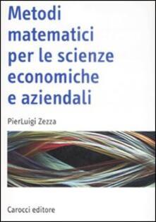 Antondemarirreguera.es Metodi matematici per le scienze economiche e aziendali Image