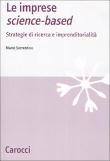 Le imprese science-based. Strategie di ricerca e imprenditorialità.pdf