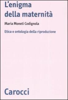 Lpgcsostenible.es L' enigma della maternità. Etica e ontologia della riproduzione Image