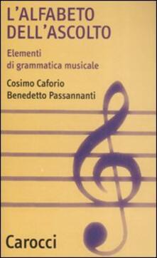 Warholgenova.it L' alfabeto dell'ascolto. Elementi di grammatica musicale Image