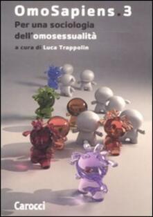 Daddyswing.es Omosapiens. Vol. 3: Per una sociologia dell'omosessualità. Image