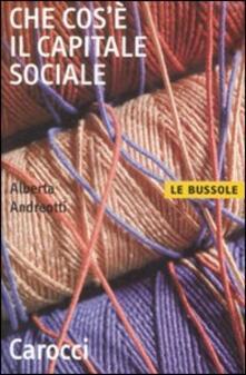 Che cosè il capitale sociale.pdf