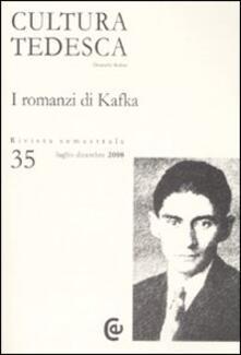 Cefalufilmfestival.it Cultura tedesca. Vol. 35: I romanzi di Kafka. Image