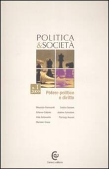 Grandtoureventi.it Politica e società (2009). Vol. 1: Potere politico e diritto. Image