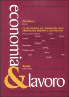 Letterarioprimopiano.it Economia & lavoro (2008). Vol. 3 Image