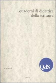 Antondemarirreguera.es QdS. Quaderni di didattica della scrittura (2008). Vol. 9 Image
