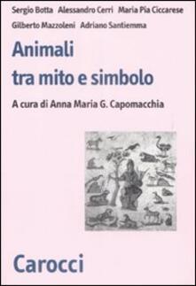 Animali fra mito e simbolo - copertina