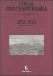 Aboutschuster.de Italia contemporanea vol. 252-253 Image