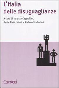 Libro L' Italia delle disuguaglianze