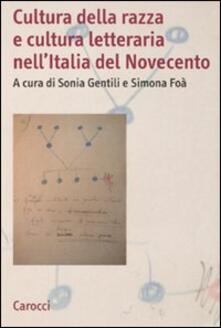Voluntariadobaleares2014.es Cultura della razza e cultura letteraria nell'Italia del Novecento Image