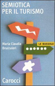 Libro Semiotica del turismo M. Claudia Brucculeri