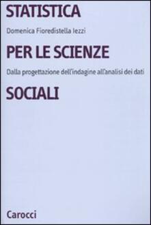 Daddyswing.es Statistica per le scienze sociali. Dalla progettazione dell'indagine all'analisi dei dati Image