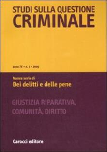 Cefalufilmfestival.it Studi sulla questione criminale (2009). Vol. 1 Image