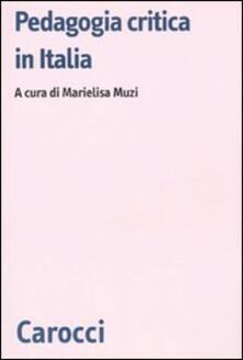 Lpgcsostenible.es Pedagogia critica in Italia. Modelli a confronto Image