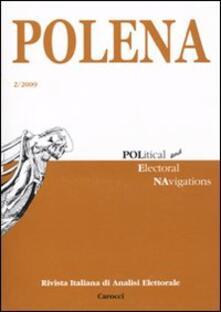 Listadelpopolo.it Polena. Rivista italiana di analisi elettorale (2009). Vol. 2 Image