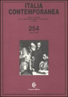 Ascotcamogli.it Italia contemporanea. Vol. 254 Image