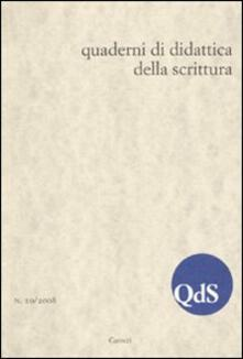Radiospeed.it QdS. Quaderni di didattica della scrittura (2009). Vol. 10 Image