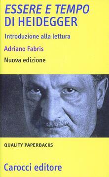 Fondazionesergioperlamusica.it «Essere e tempo» di Heidegger. Introduzione alla lettura Image
