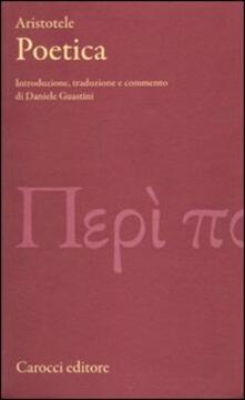 Poetica - Aristotele  - copertina
