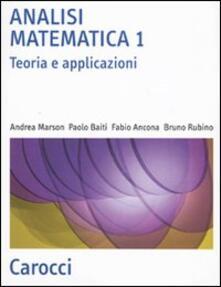 Ascotcamogli.it Analisi matematica 1. Teoria e applicazioni Image
