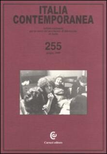 Listadelpopolo.it Italia contemporanea. Vol. 255 Image