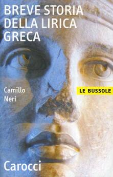 Warholgenova.it Breve storia della lirica greca Image