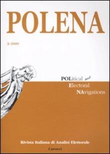 Radiospeed.it Polena. Rivista italiana di analisi elettorale (2009). Vol. 3 Image