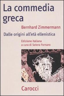 Parcoarenas.it La commedia greca. Dalle origini all'età ellenistica Image