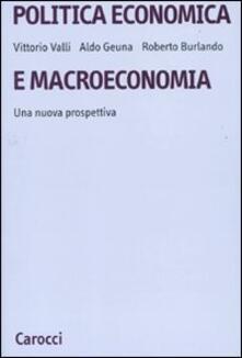 Ristorantezintonio.it Politica economica e macroeconomia. Una nuova prospettiva Image
