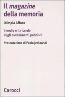 Squillogame.it Il magazine della memoria. I media e il ricordo degli avvenimenti pubblici Image