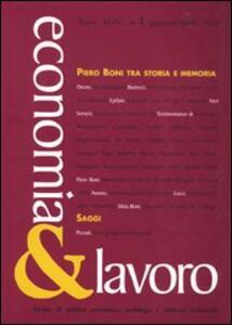 Economia & lavoro (2010). Vol. 1