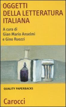 Oggetti della letteratura italiana.pdf