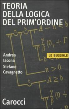 Teoria della logica del primordine.pdf