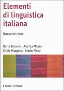 Daddyswing.es Elementi di linguistica italiana Image
