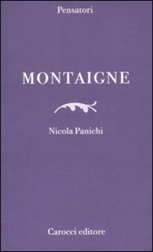Montaigne -  Nicola Panichi - copertina