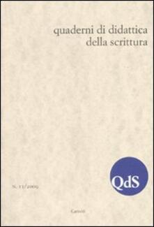 Chievoveronavalpo.it QdS. Quaderni di didattica della scrittura (2009). Vol. 11 Image