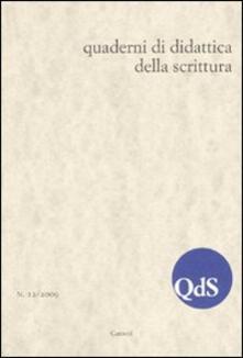 Daddyswing.es QdS. Quaderni di didattica della scrittura (2009). Vol. 12 Image