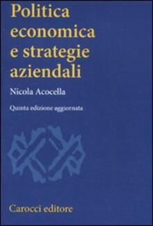 Vitalitart.it Politica economica e strategie aziendali Image
