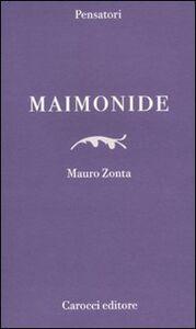 Libro Maimonide Mauro Zonta