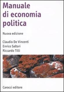 Premioquesti.it Manuale di economia politica Image