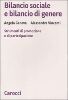Warholgenova.it Bilancio sociale e bilancio di genere. Strumenti di promozione e di partecipazione Image