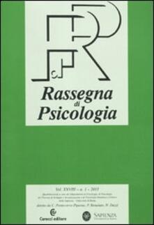 Winniearcher.com Rassegna di psicologia (2011). Vol. 1 Image