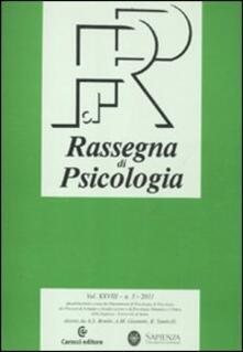 Filmarelalterita.it Rassegna di psicologia (2011). Vol. 3 Image