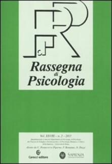 Chievoveronavalpo.it Rassegna di psicologia (2011). Vol. 2 Image