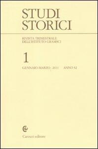 Studi storici (2011). Vol. 1