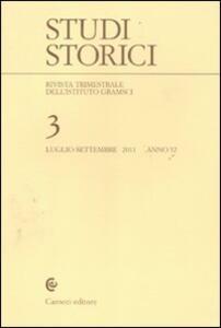 Studi storici (2011). Vol. 3